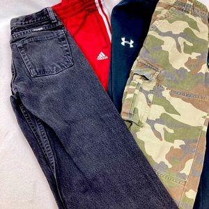 Lot Boy medium pants long size 8 (4 ct)